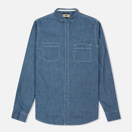 Uniformes Generale La Haine Chambray Men's Shirt Vintage Indigo