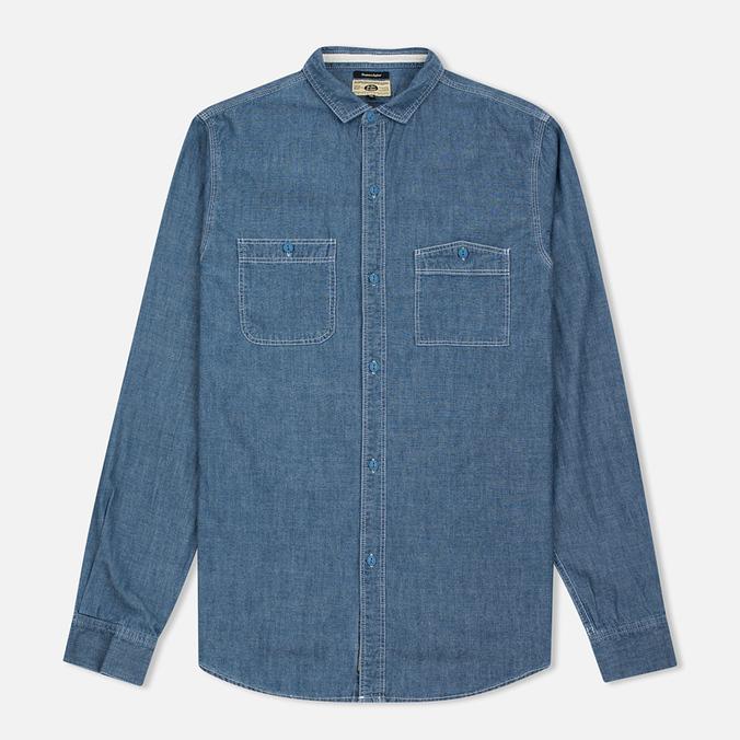 Мужская рубашка Uniformes Generale La Haine Chambray Vintage Indigo