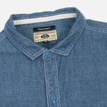 Мужская рубашка Uniformes Generale La Haine Chambray Vintage Indigo фото- 1