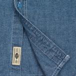 Мужская рубашка Uniformes Generale La Haine Chambray Vintage Indigo фото- 4