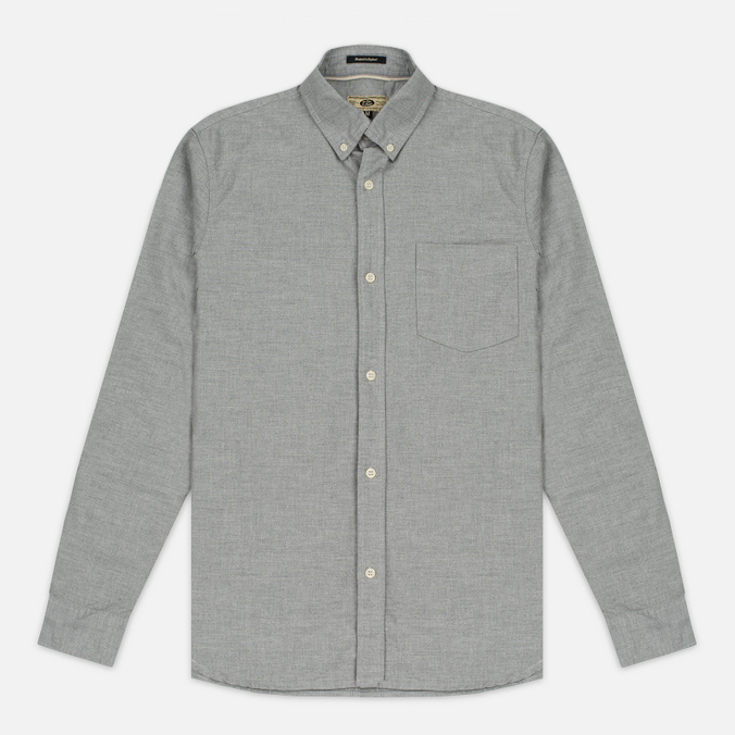 Мужская рубашка Uniformes Generale Larsen Light Grey Melange