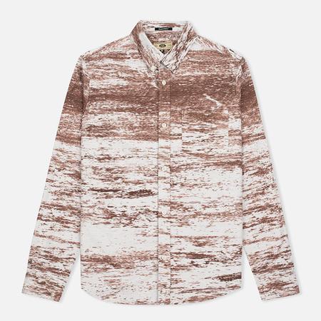 Uniformes Generale Stahl Oxford Men's Shirt Ecru/Rust