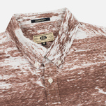 Uniformes Generale Stahl Oxford Men's Shirt Ecru/Rust photo- 1