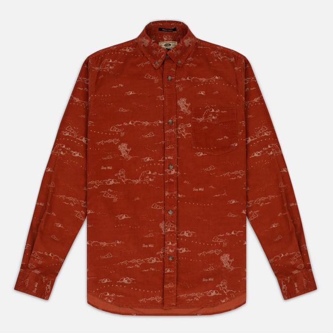 Uniformes Generale Stay Wild Baby Men's Shirt Cord Burnt Orange
