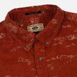 Uniformes Generale Stay Wild Baby Men's Shirt Cord Burnt Orange photo- 1
