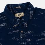 Мужская рубашка Uniformes Generale Stay Wild Baby Cord Dark Indigo фото- 1
