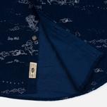 Мужская рубашка Uniformes Generale Stay Wild Baby Cord Dark Indigo фото- 5