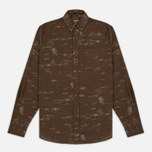 Мужская рубашка Uniformes Generale Stay Wild Baby Cord Tan фото- 0