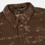Мужская рубашка Uniformes Generale Stay Wild Baby Cord Tan фото- 1