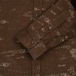 Мужская рубашка Uniformes Generale Stay Wild Baby Cord Tan фото- 3