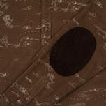Мужская рубашка Uniformes Generale Stay Wild Baby Cord Tan фото- 4
