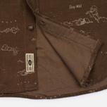 Мужская рубашка Uniformes Generale Stay Wild Baby Cord Tan фото- 5