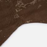 Мужская рубашка Uniformes Generale Stay Wild Baby Cord Tan фото- 6