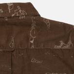 Мужская рубашка Uniformes Generale Stay Wild Baby Cord Tan фото- 7