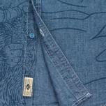 Мужская рубашка Uniformes Generale Stay Wild Chambray Vintage Indigo фото- 4