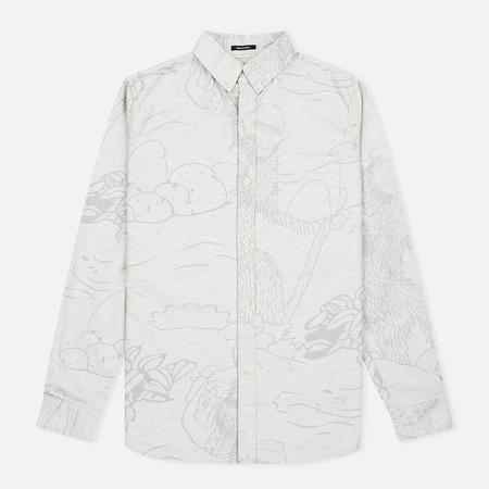 Uniformes Generale Stay Wild Oxford Men's Shirt Ecru