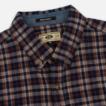 Мужская рубашка Uniformes Generale Toikka Check Brushed Brown/Indigo/Rust Check фото- 1