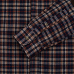 Мужская рубашка Uniformes Generale Toikka Check Brushed Brown/Indigo/Rust Check фото- 3
