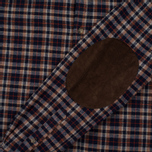 Мужская рубашка Uniformes Generale Toikka Check Brushed Brown/Indigo/Rust Check фото- 4