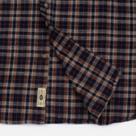 Мужская рубашка Uniformes Generale Toikka Check Brushed Brown/Indigo/Rust Check фото- 5