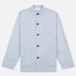 Мужская рубашка Universal Works Bakers Blue фото- 0
