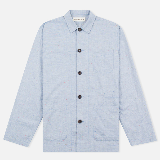 Мужская рубашка Universal Works Bakers Blue