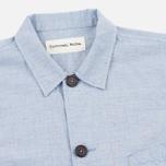 Мужская рубашка Universal Works Bakers Blue фото- 1