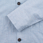 Мужская рубашка Universal Works Bakers Blue фото- 4