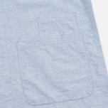 Мужская рубашка Universal Works Bakers Blue фото- 3