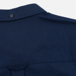 Мужская рубашка Lyle & Scott SS Plain Oxford Navy фото- 5
