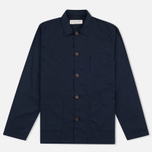 Мужская рубашка Universal Works Bakers Poplin Navy фото- 0