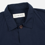 Мужская рубашка Universal Works Bakers Poplin Navy фото- 1