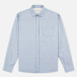 Мужская рубашка Universal Works Classic Blue фото- 0