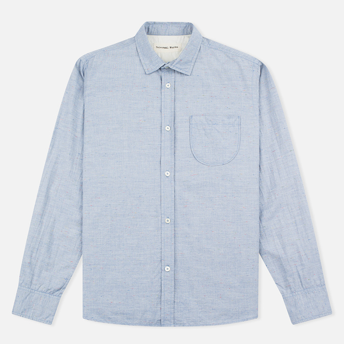 Мужская рубашка Universal Works Classic Blue
