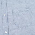 Мужская рубашка Universal Works Classic Blue фото- 2