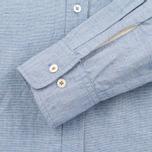 Мужская рубашка Universal Works Classic Blue фото- 3