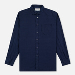 Мужская рубашка Universal Works Classic Denim Linen Indigo фото- 0