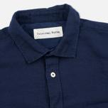 Мужская рубашка Universal Works Classic Denim Linen Indigo фото- 1