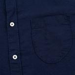 Мужская рубашка Universal Works Classic Denim Linen Indigo фото- 2