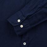 Мужская рубашка Universal Works Classic Denim Linen Indigo фото- 3