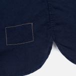 Мужская рубашка Universal Works Classic Denim Linen Indigo фото- 4