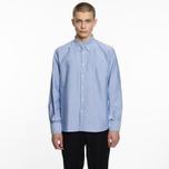 Мужская рубашка Universal Works Everyday Oxford Blue фото- 5