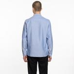 Мужская рубашка Universal Works Everyday Oxford Blue фото- 6