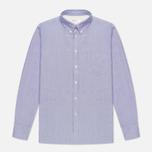 Мужская рубашка Universal Works Everyday Oxford Blue фото- 0