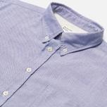Мужская рубашка Universal Works Everyday Oxford Blue фото- 1