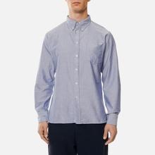 Мужская рубашка Universal Works Everyday Oxford Blue фото- 2