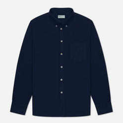 Мужская рубашка Universal Works Everyday Oxford Blue Print