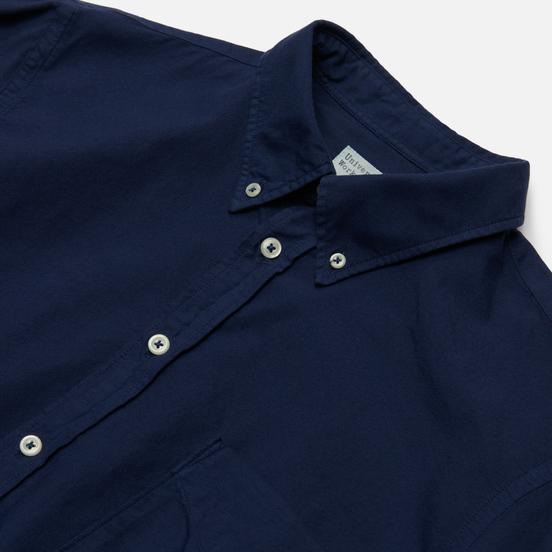 Мужская рубашка Universal Works Everyday Oxford Blue Print