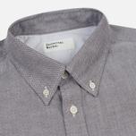 Мужская рубашка Universal Works Everyday Oxford Brown фото- 1