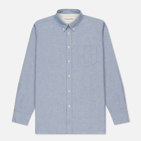 Мужская рубашка Universal Works Everyday Oxford Cotton Navy